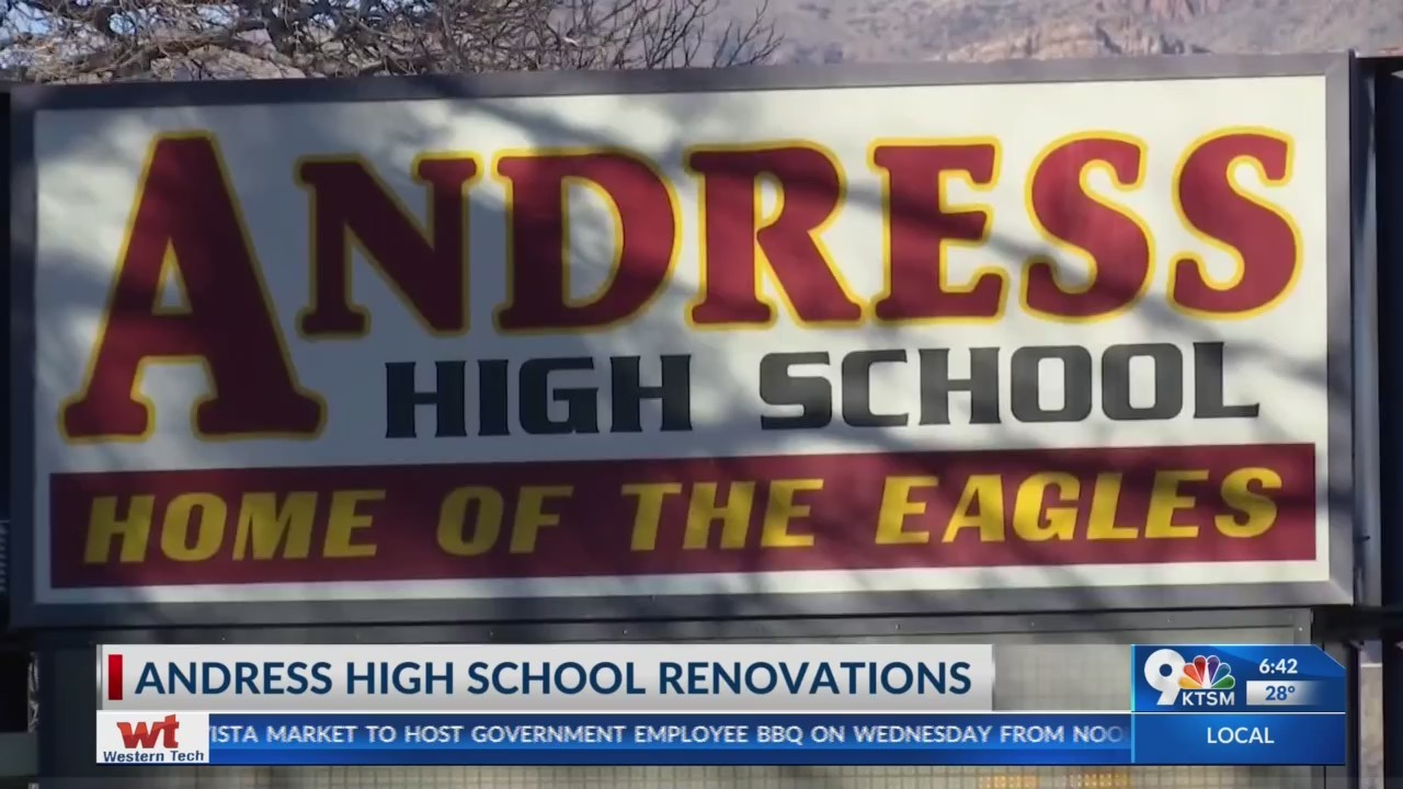New improvements begin for Andress High School