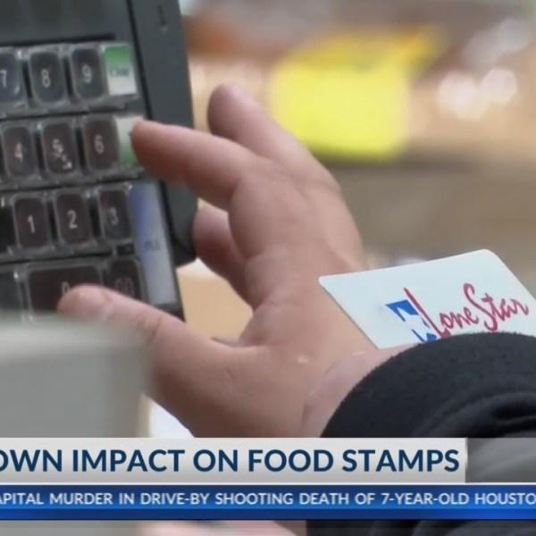 Shutdown impact on food stamps in El Paso