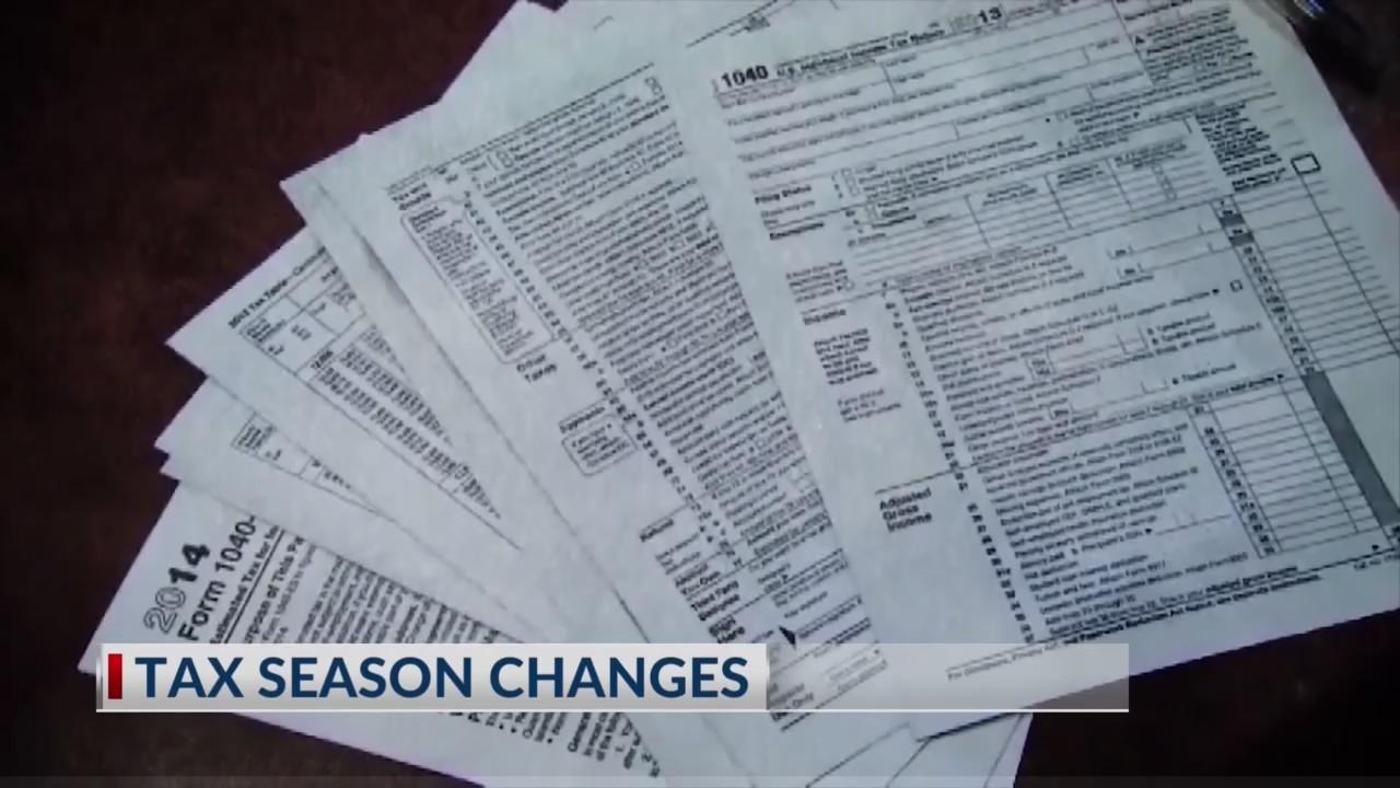 Tax season changes