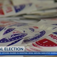Today three candidates running in a special election