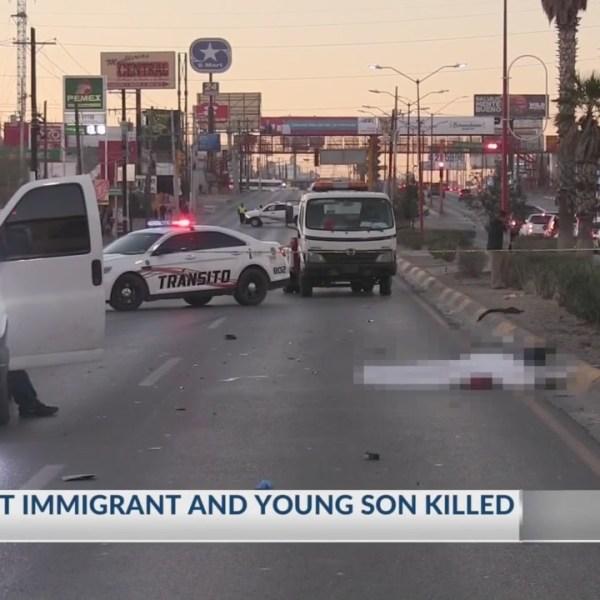 Vehicle hits, kills pregnant Guatemalan immigrant, young son in Juarez