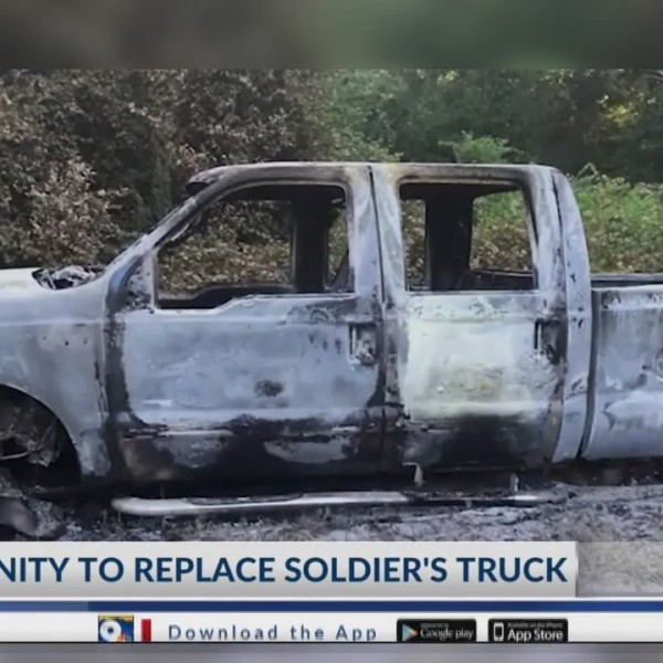 Community to replace soldier's truck