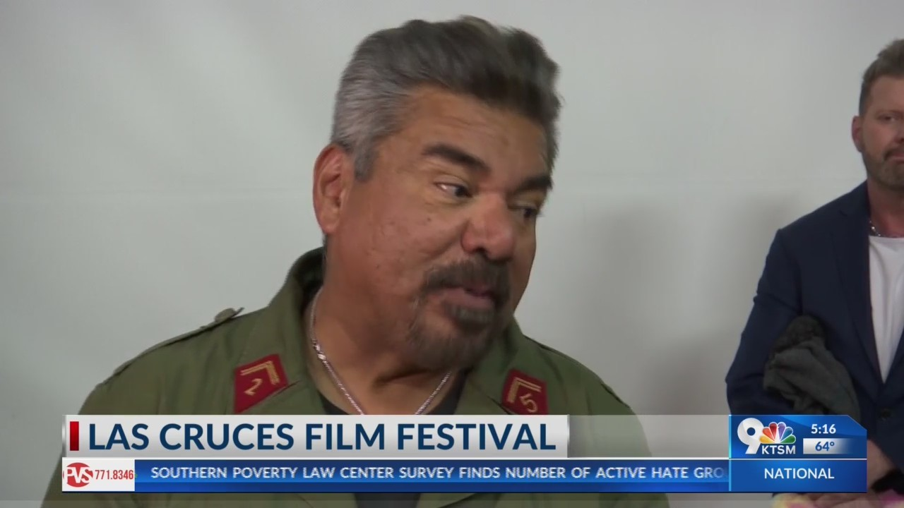 George Lopez at the Las Cruces international film festival