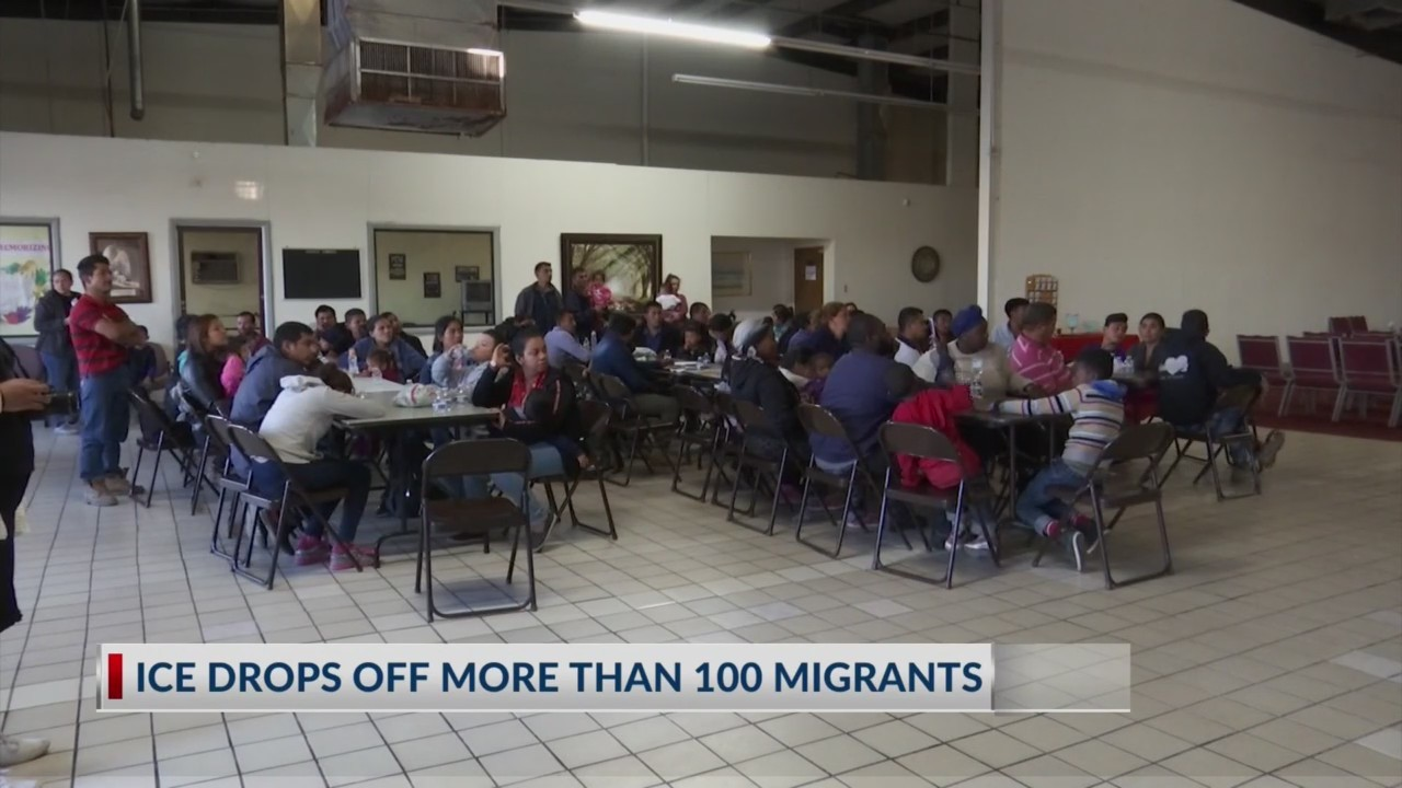 ICE drops off more than 100 migrants