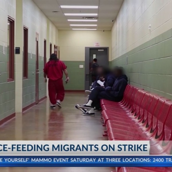 Lawmakers ask ICE to end force-feeding migrants on strike