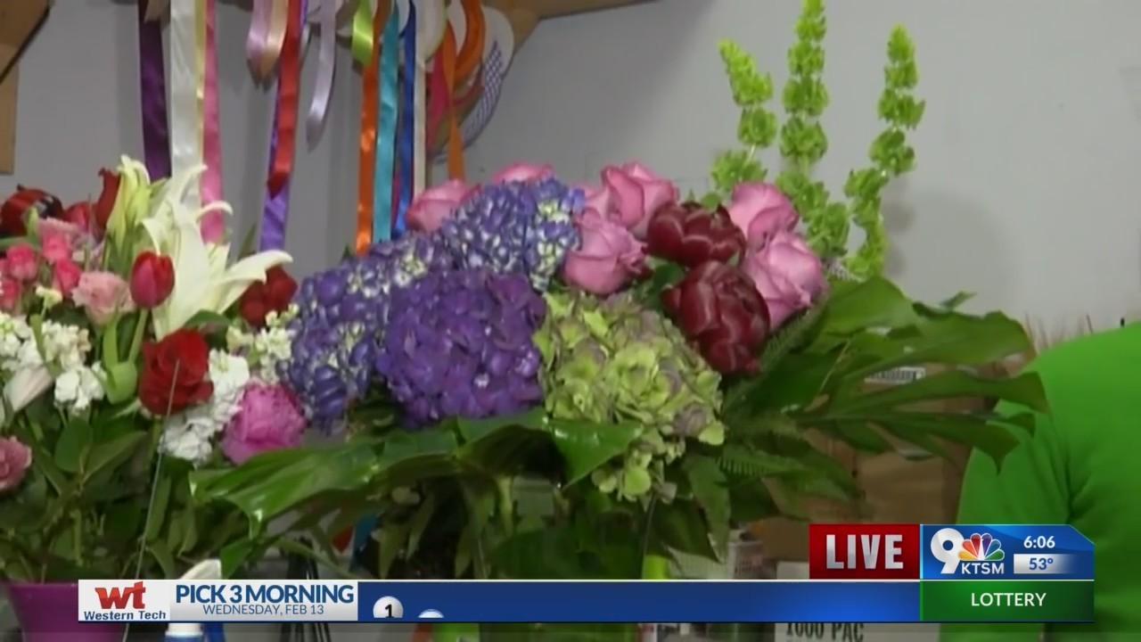Local florists prepare for Valentine's day