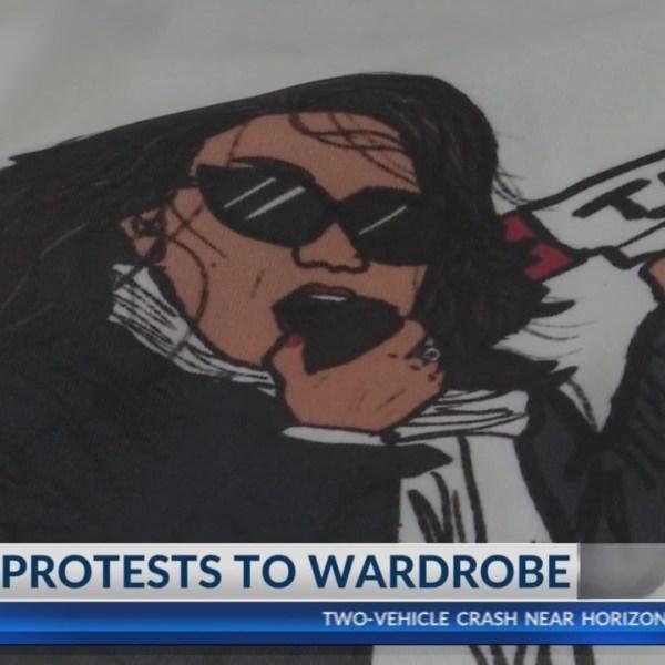 Wardrobe at Trump Rally
