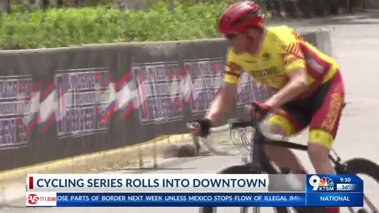 CRIT cycling series rolled through Downtown Saturday