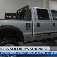 Fort Bliss soldier surprised with donated new truck
