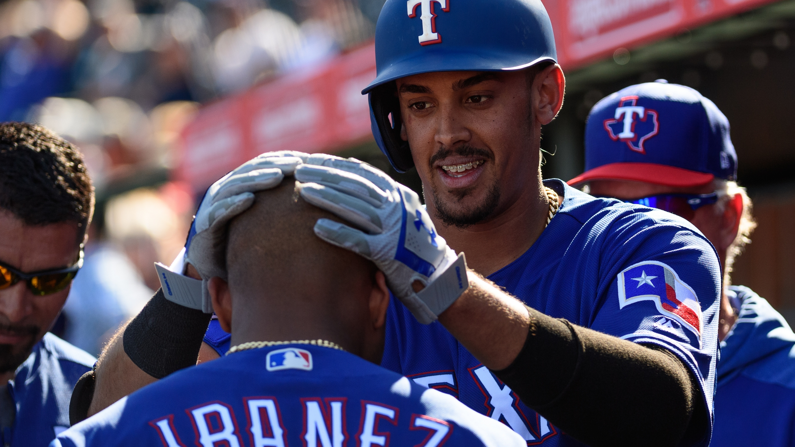 Texas Rangers spring training Getty