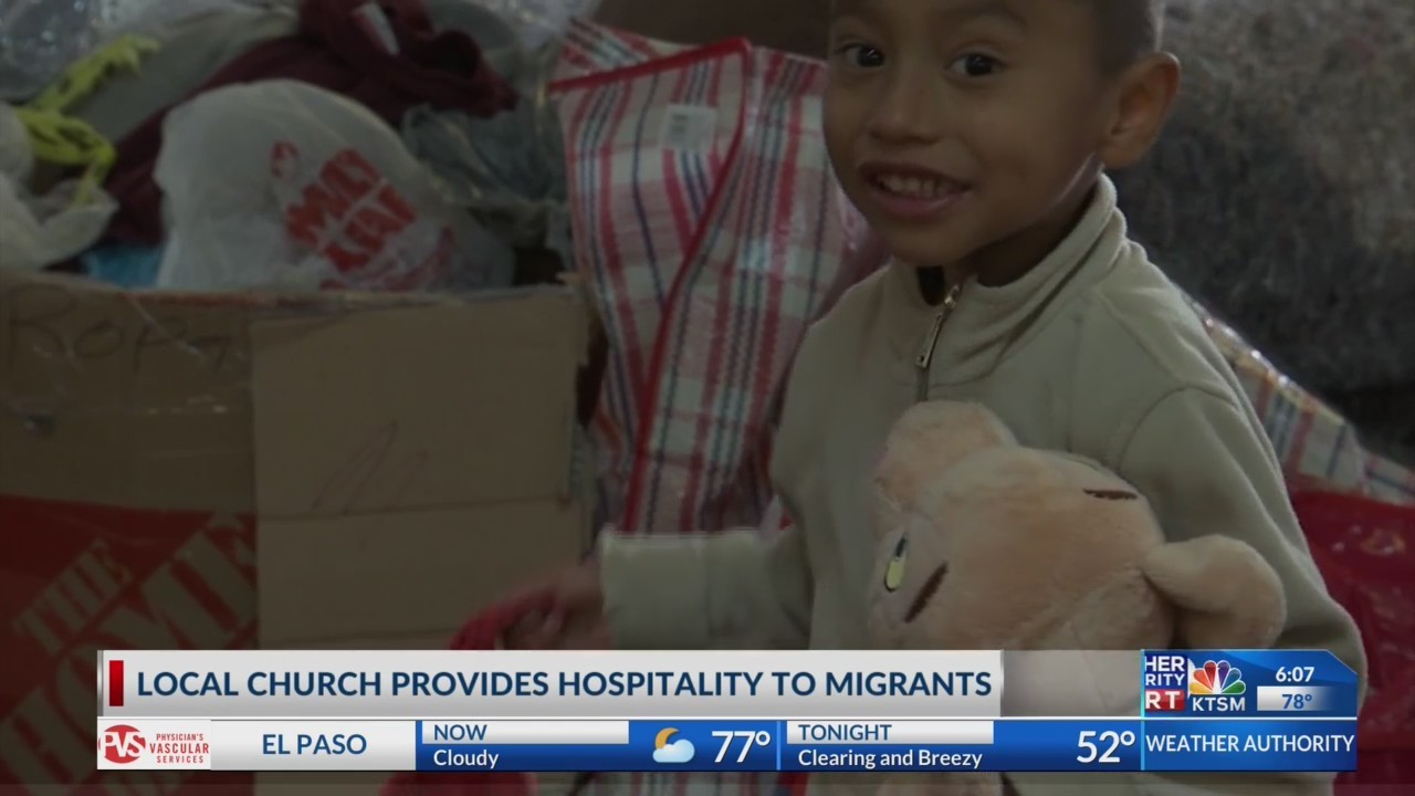 Local church provides hopsitality for incoming migrants