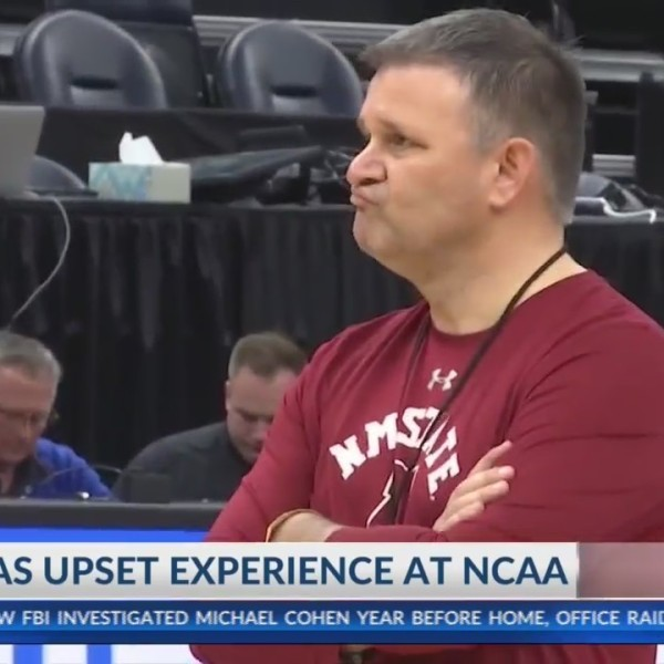 NMSU coach knows all about upsets