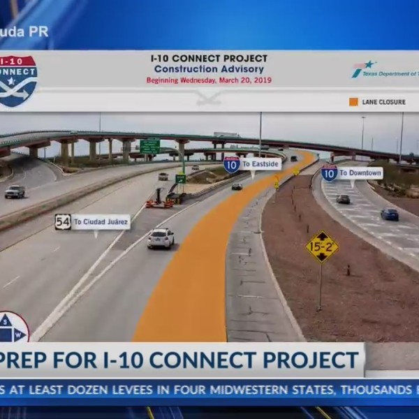 Reminder to El Paso drivers, US 54 to I-10 ramp closes Tuesday night