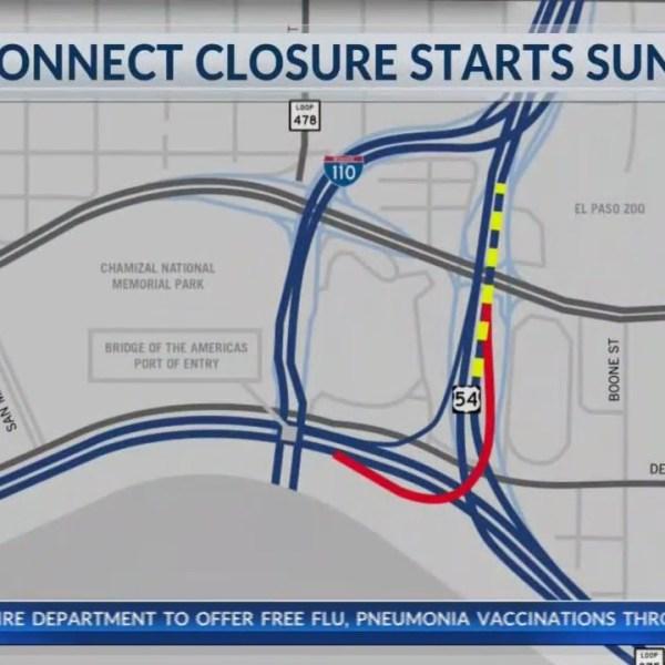 TXDOT road closures