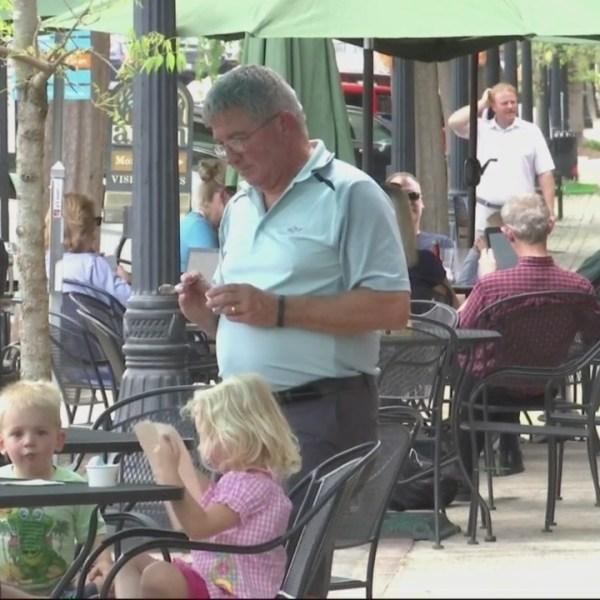 Downtown Aiken during Masters Week
