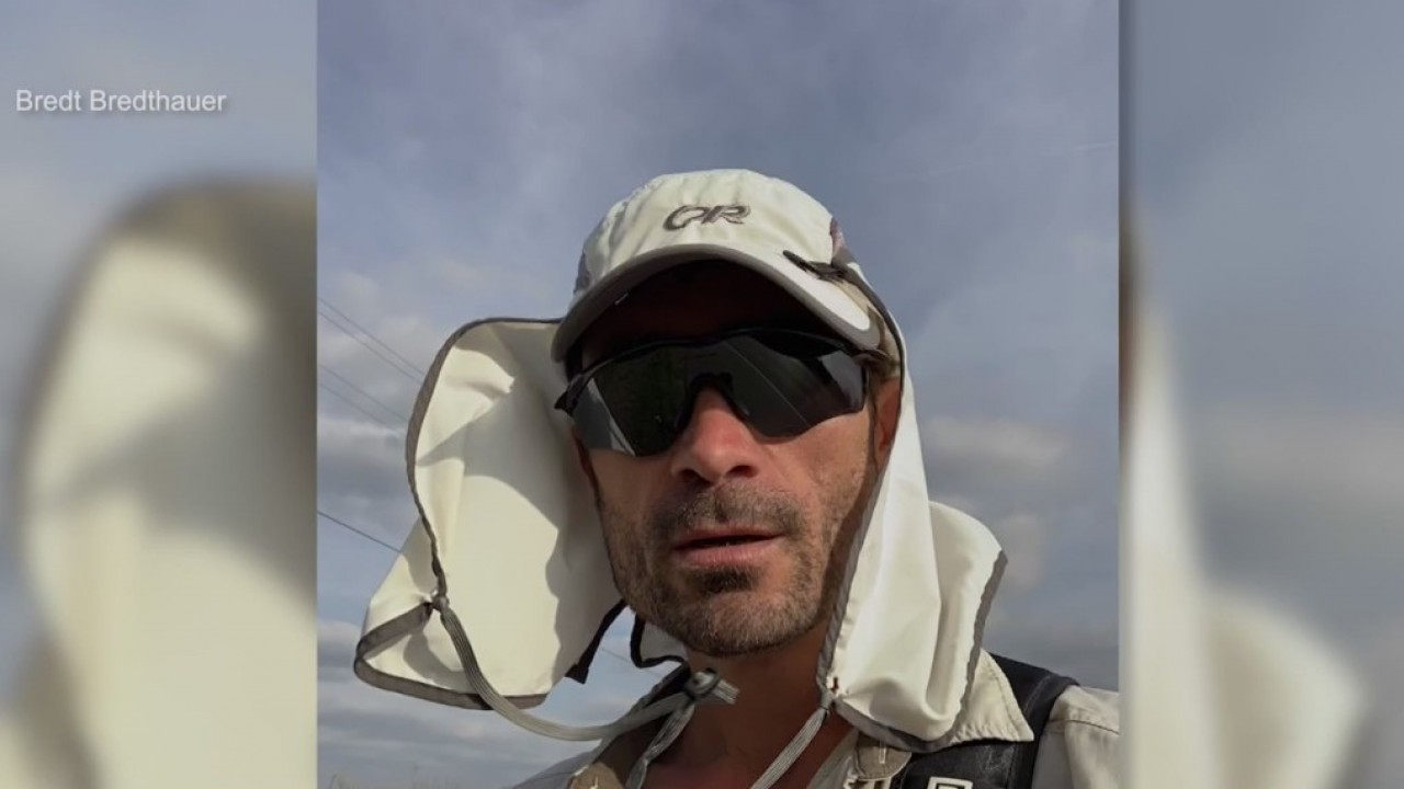 Man walks from Brownsville to El Paso to explore U.S.-Mexico border