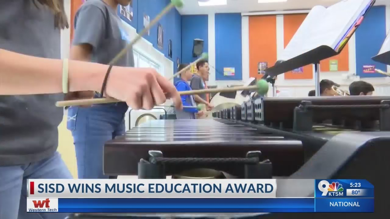 Socorro Independent School District wins music education award