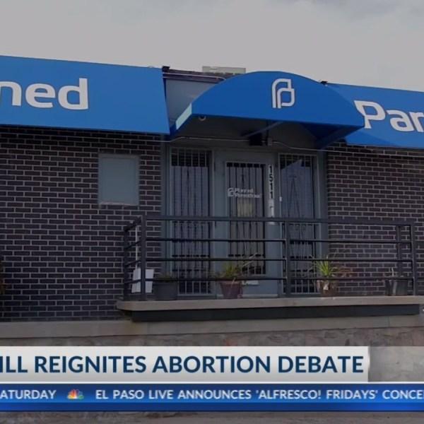 Texas bill reignites abortion debate in El Paso