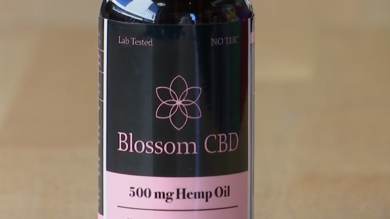 Local coffee shop selling CBD oil infused drinks