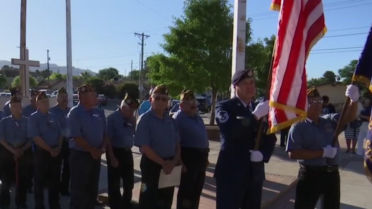 Dozens of veterans honor fallen heroes on Memorial Day