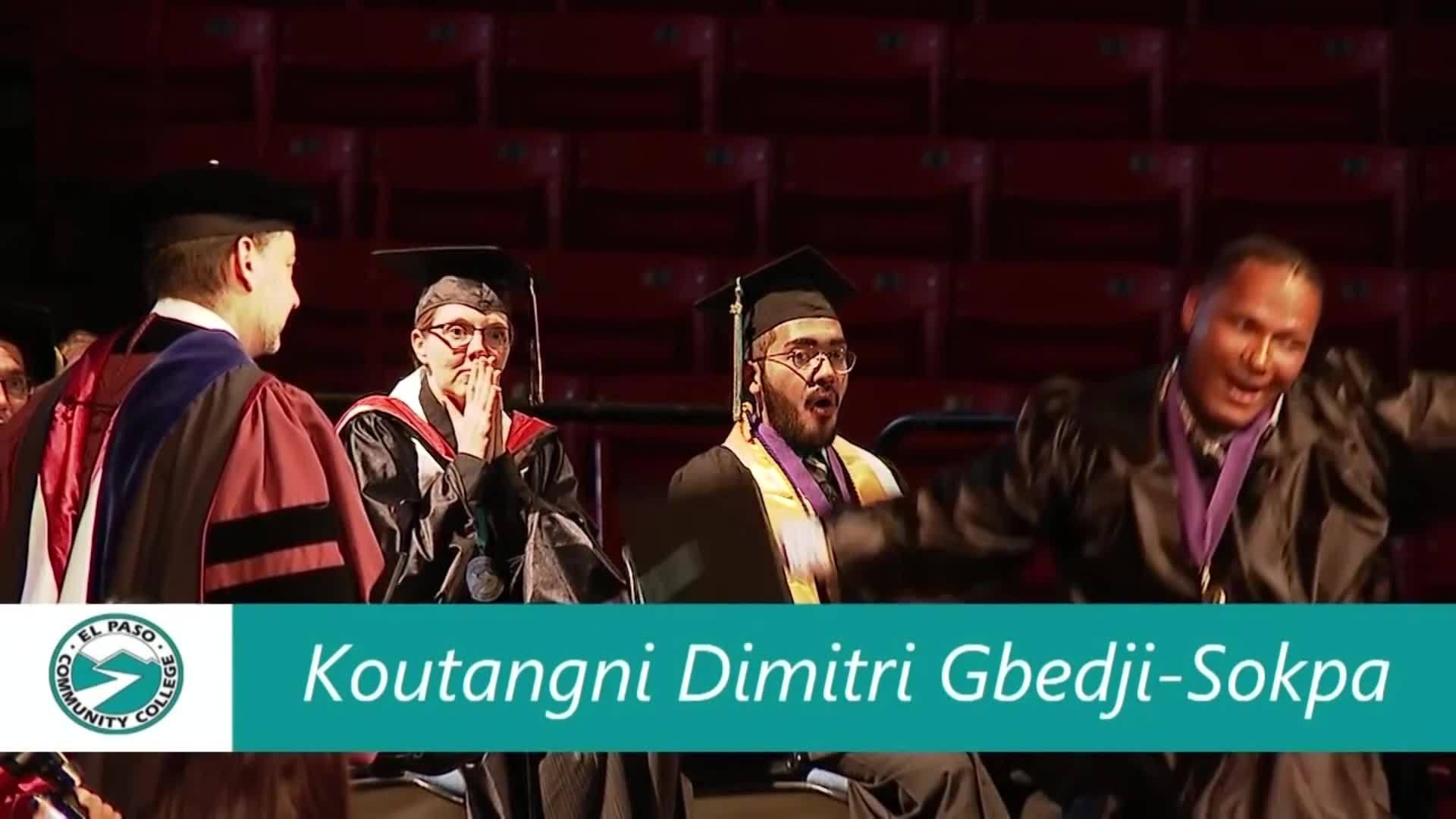 Utep Graduation 2020.Epcc Student Goes Viral For Graduation Ceremony Flip