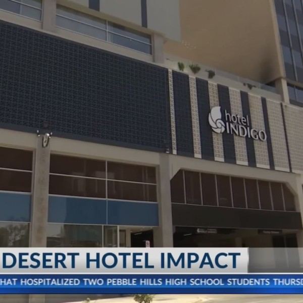 El Pasoans and visitors boost hotel business for Neon Desert