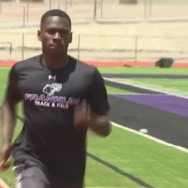 Franklin junior runs for the record books