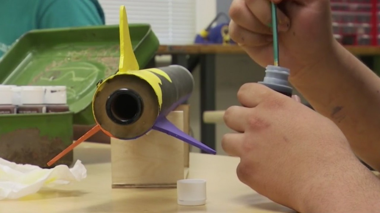 Harmony students launch to national rocket competition