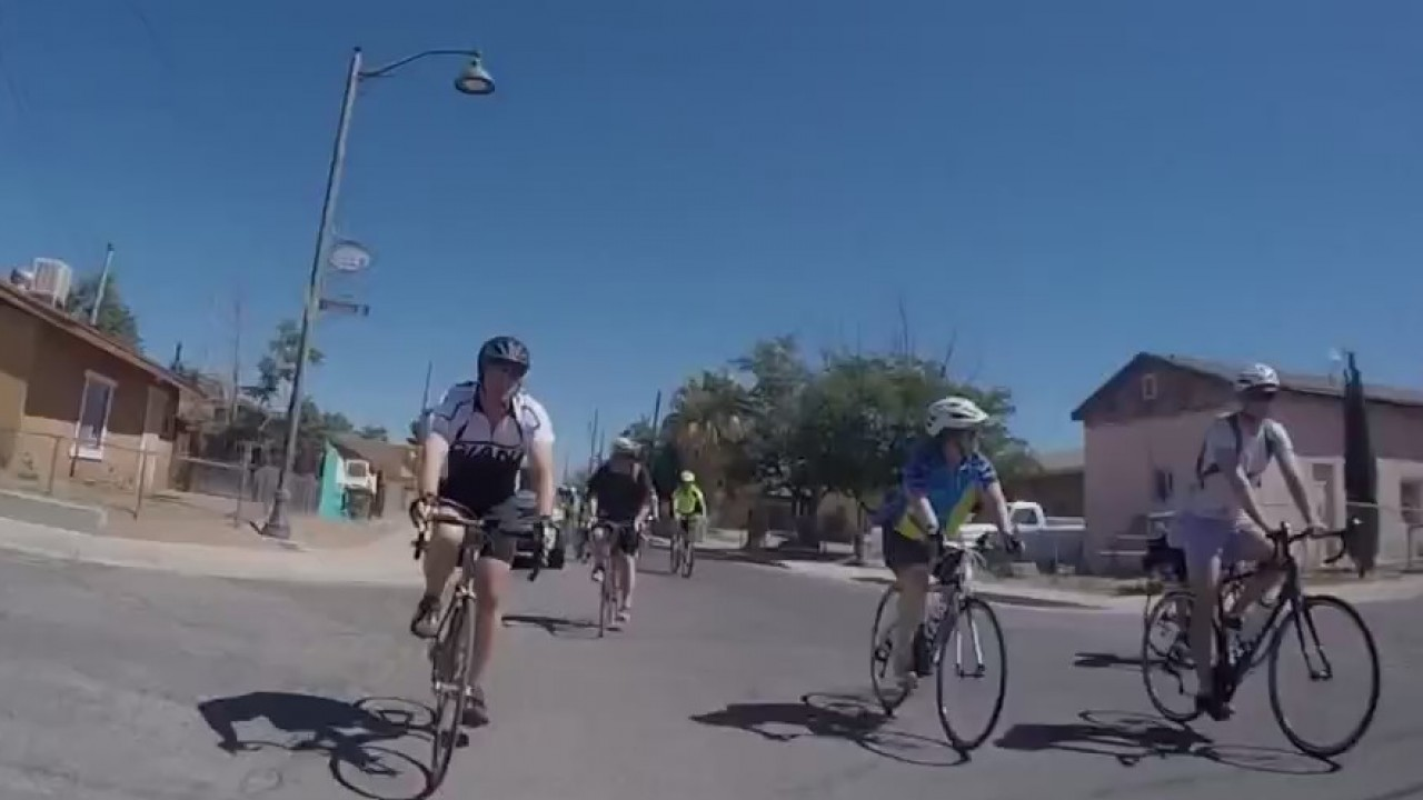 Las Cruces Mayor hosts bike ride