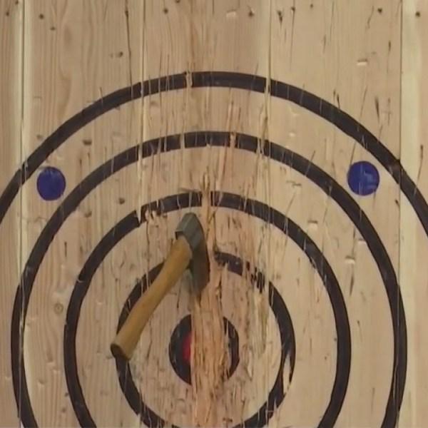 Local indoor axe throwing business set to open