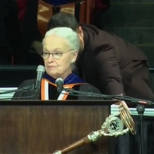 Natalicio grateful to lead final commencement as UTEP President