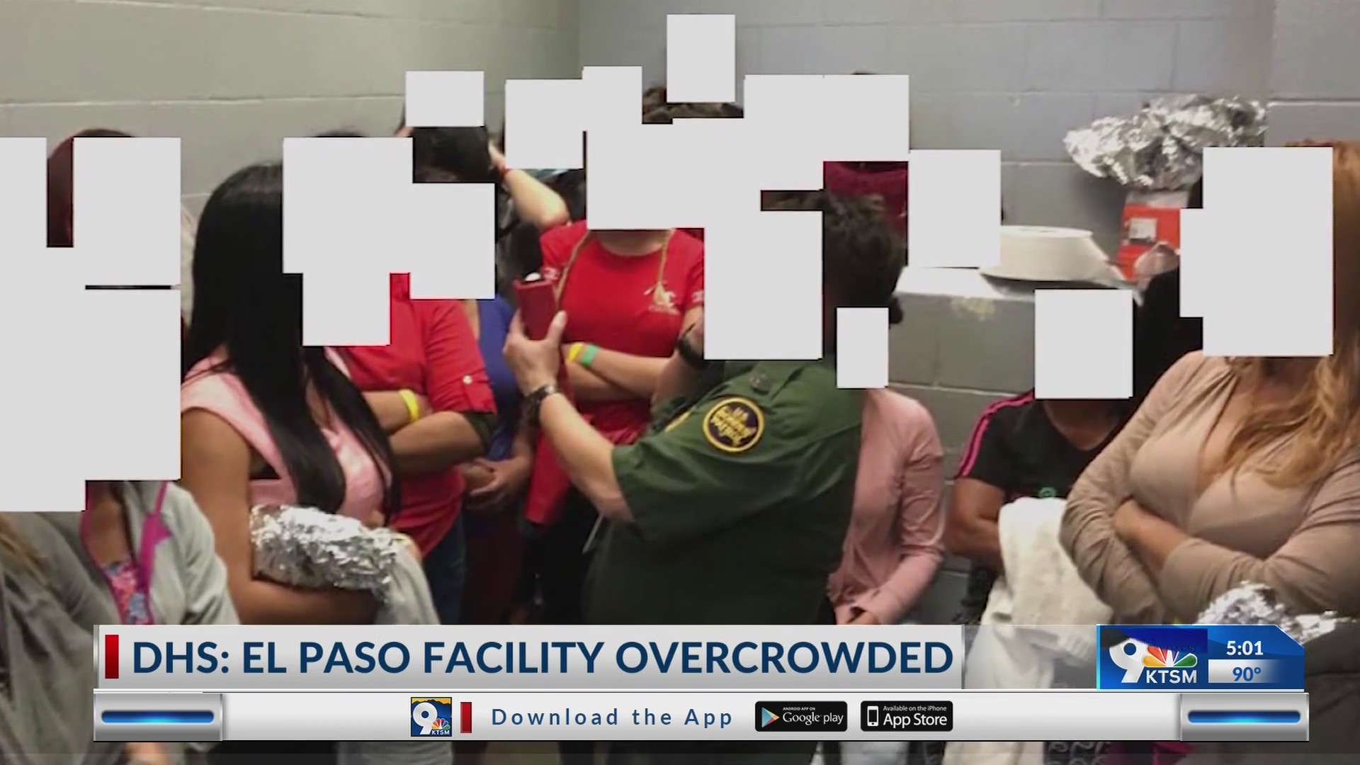 Overcrowding at El Paso migrant facilities creating dangerous conditions