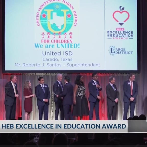 SISD wins HEB Excellence in Education Award