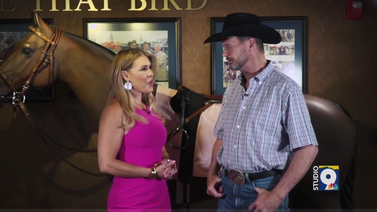 Studio 9 features Kentucky Derby Winning Trainer - Chip Woolley