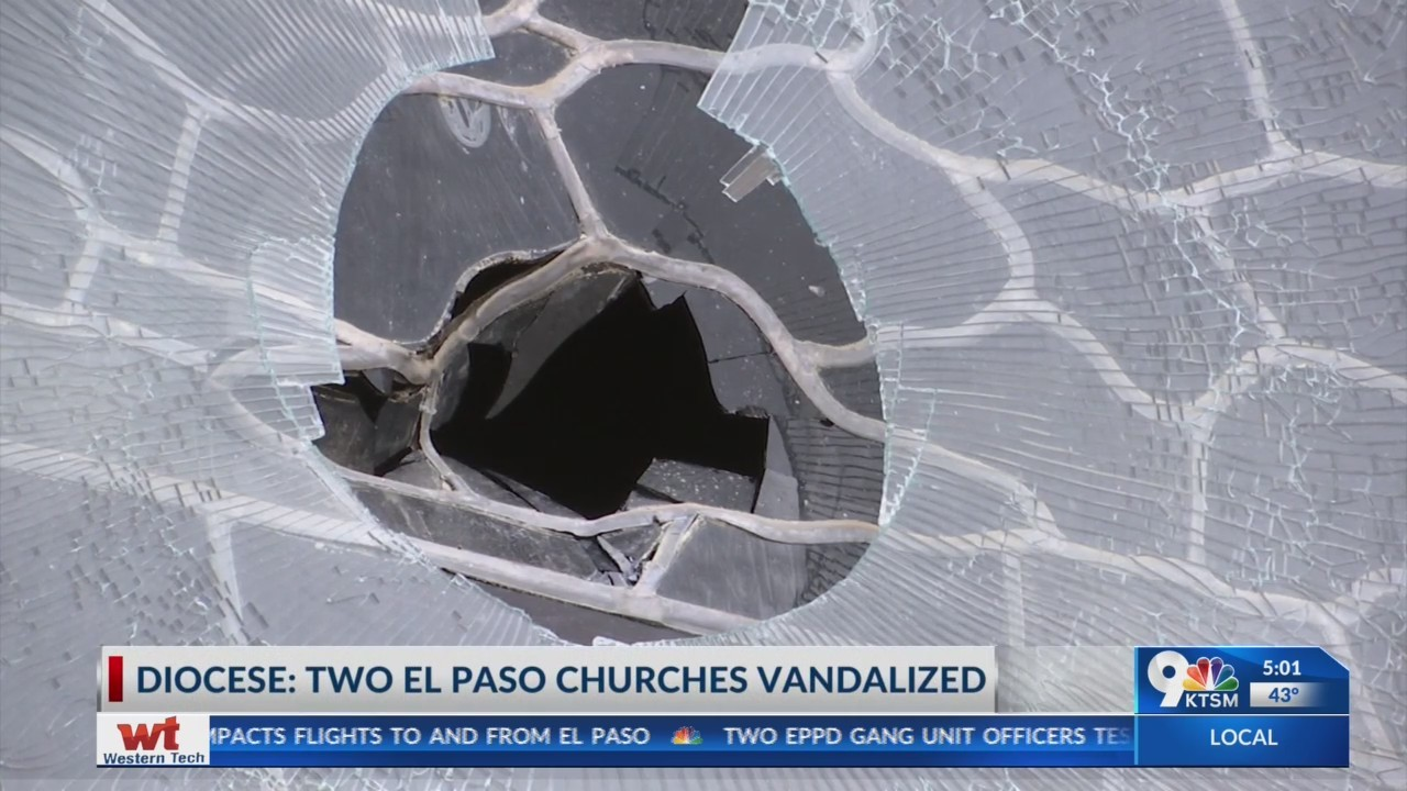 The Catholic Diocese of El Paso reassures safety protocol after vandalism of two churches