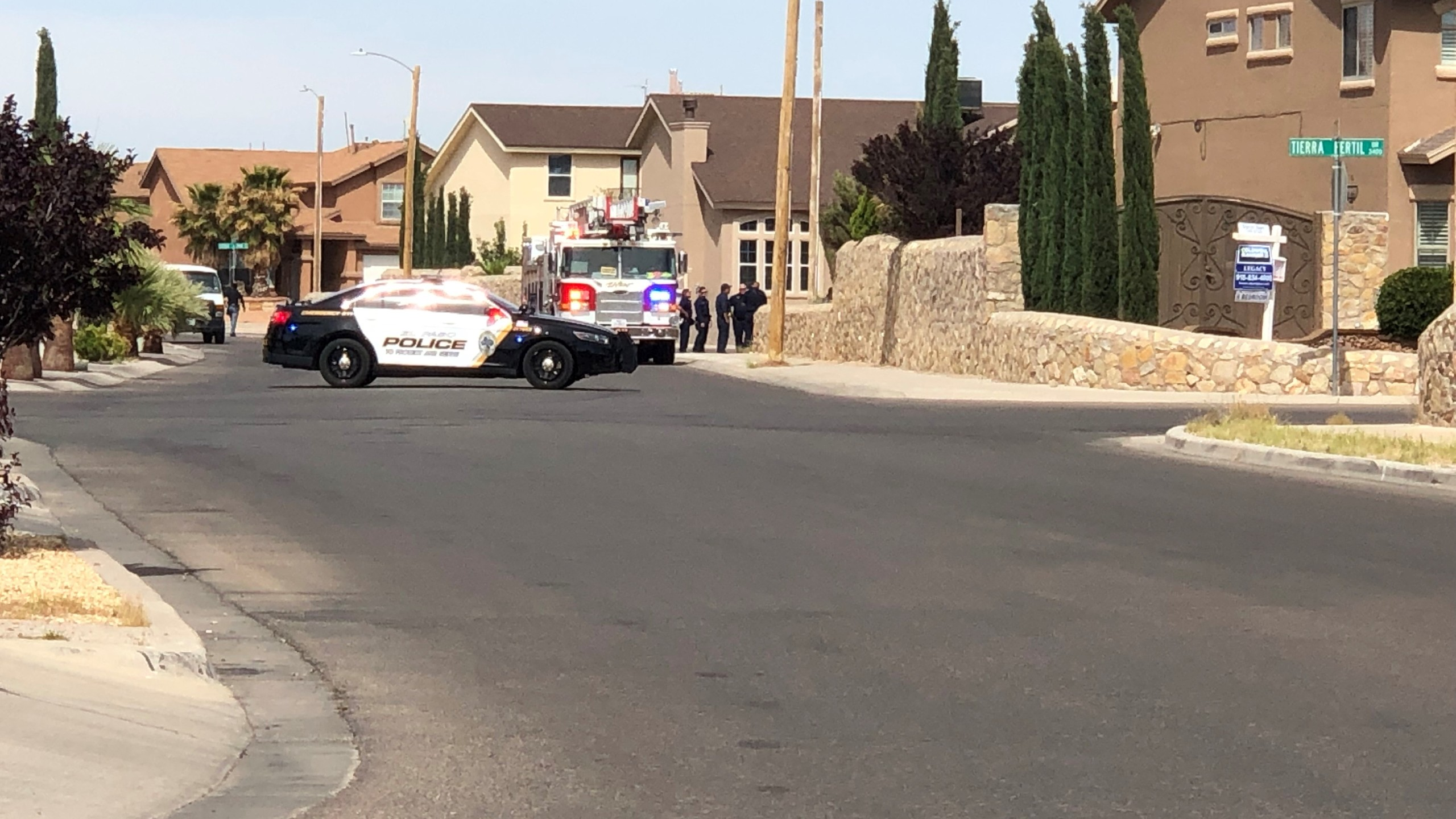 Shots fired in Far East El Paso neighborhood and subject barricaded in home
