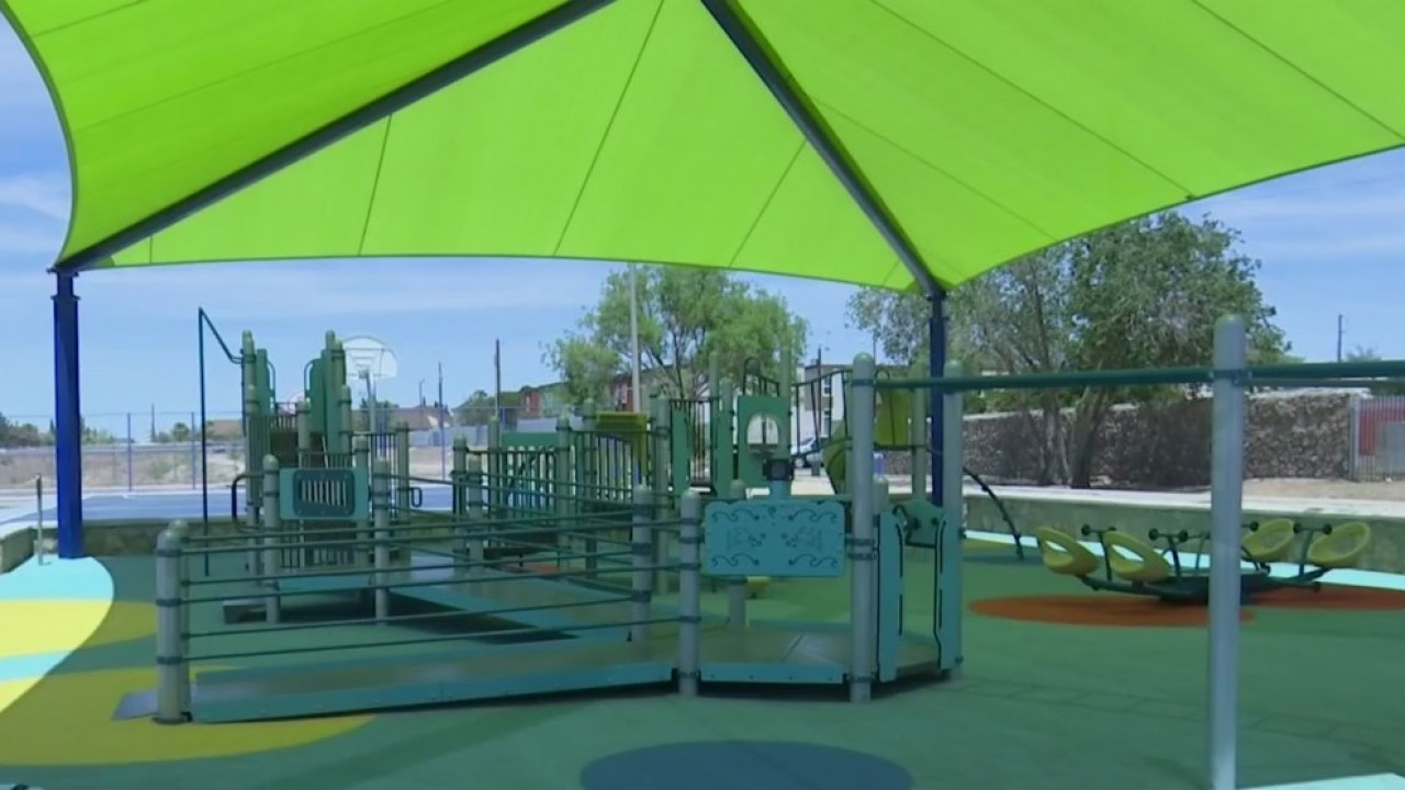 West El Paso park unveils renovations, inclusive playground