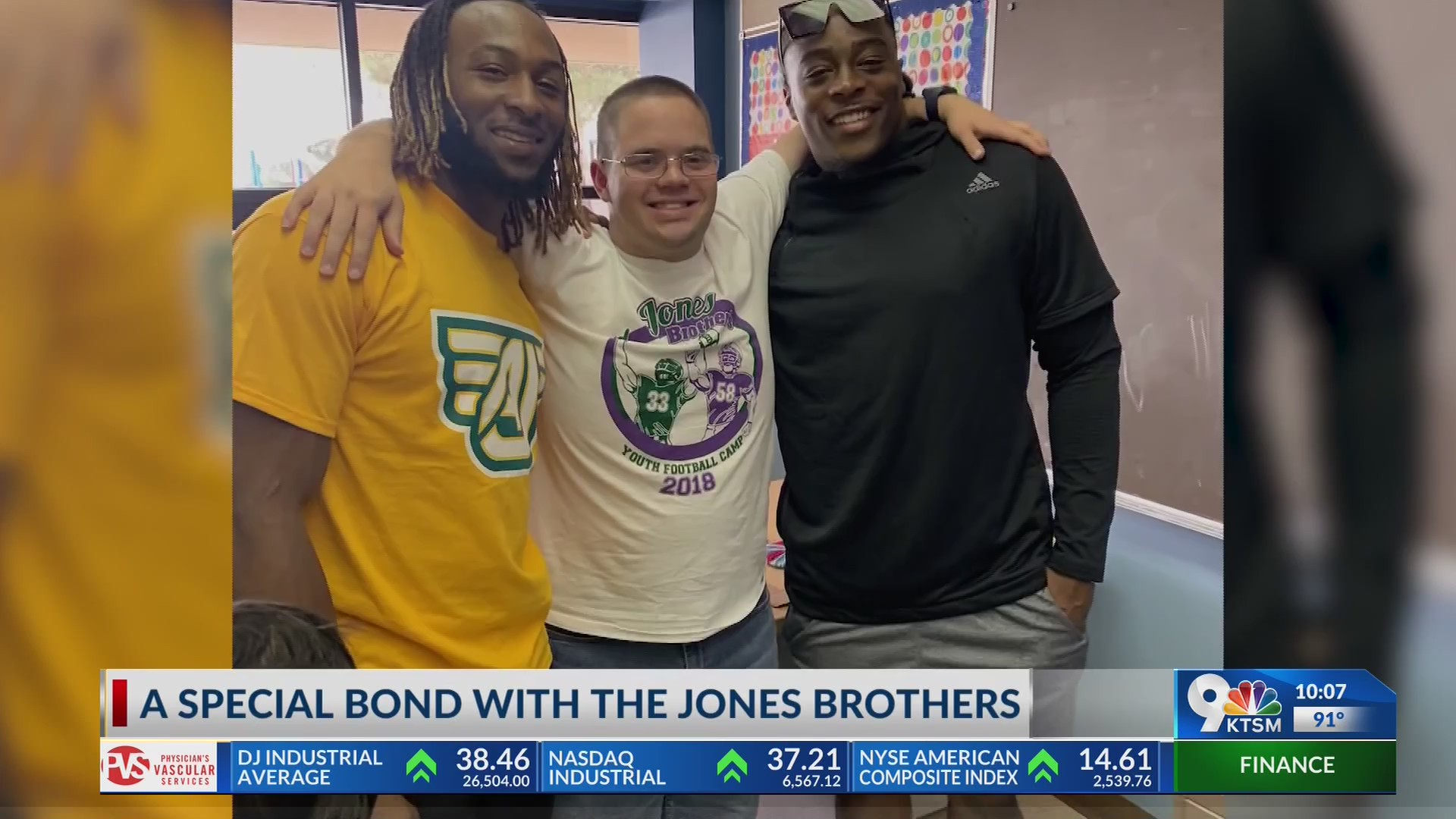 A special bond with the Jones brothers | KTSM 9 News
