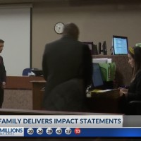 Man convicted of murder in drunk driving crash faces victim's family