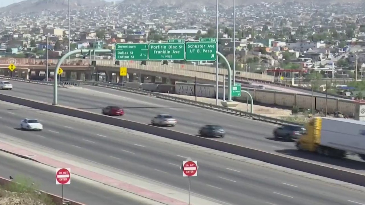 Multiple 27-hour I-10 closures scheduled for West, Central El Paso