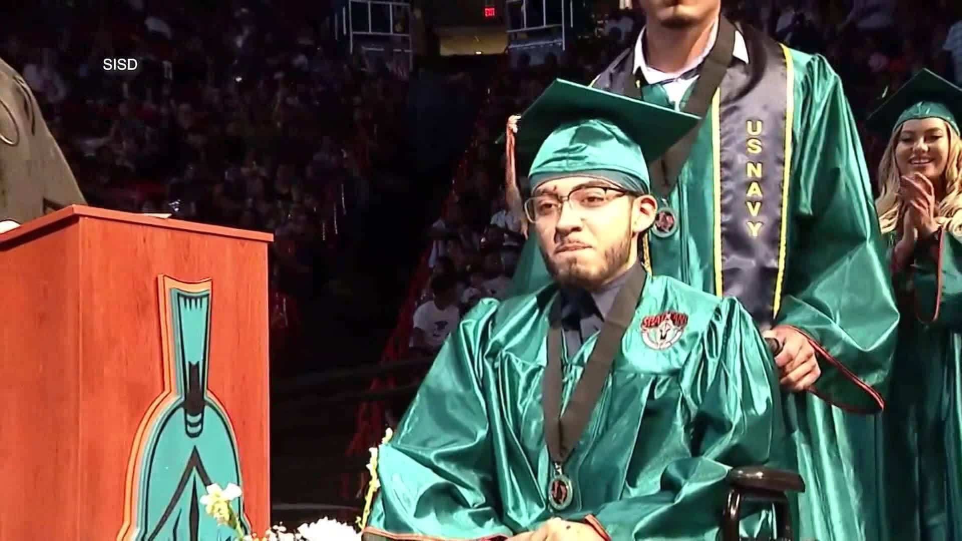 Pebble Hills student graduates less than two weeks after car crash