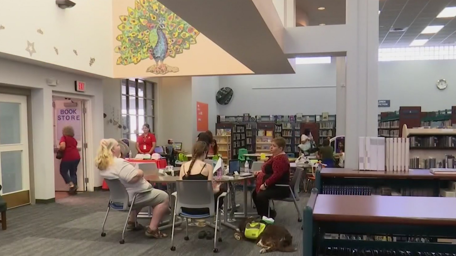 Sergio Troncoso library reopens