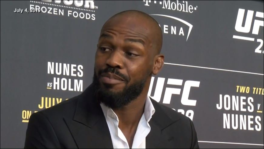 Jon 'Bones' Jones claims to be unaware of battery charge, warrant