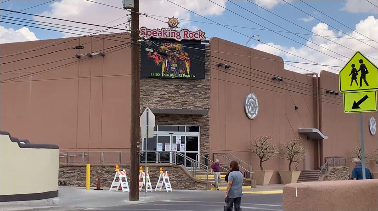 El paso speaking rock casino concerts avi resort casino movie theatre