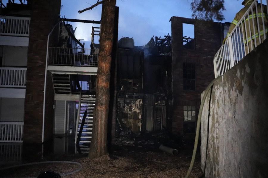 Dozens displaced in massive East El Paso apartment fire