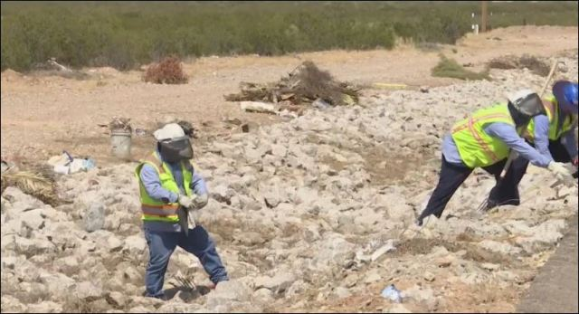 El Paso Water continues stormwater drain cleanup