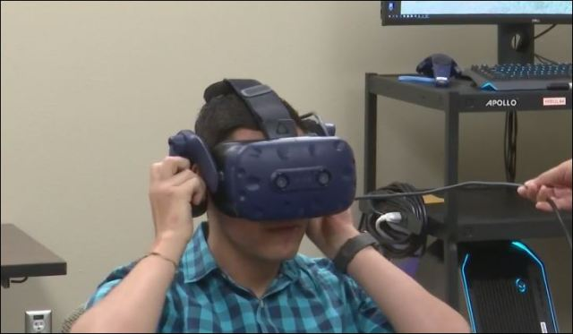 UTEP uses virtual reality to research stress