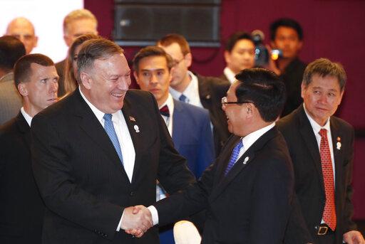 Mike Pompeo, Pham Binh Minh, Dato Lim Jock Hoi
