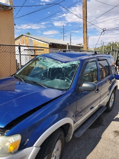 SUV of Walmart shooting victim's widower reportedly stolen, found wrecked in South-Central El Paso