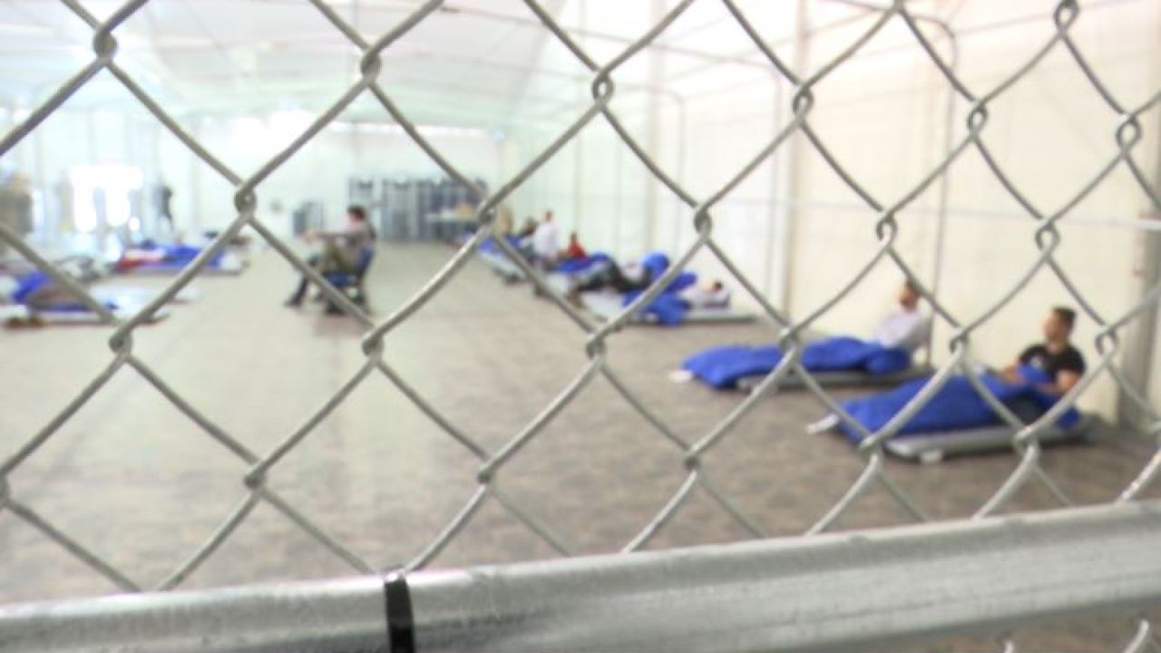 Inside look at the new CBP processing center in Tornillo